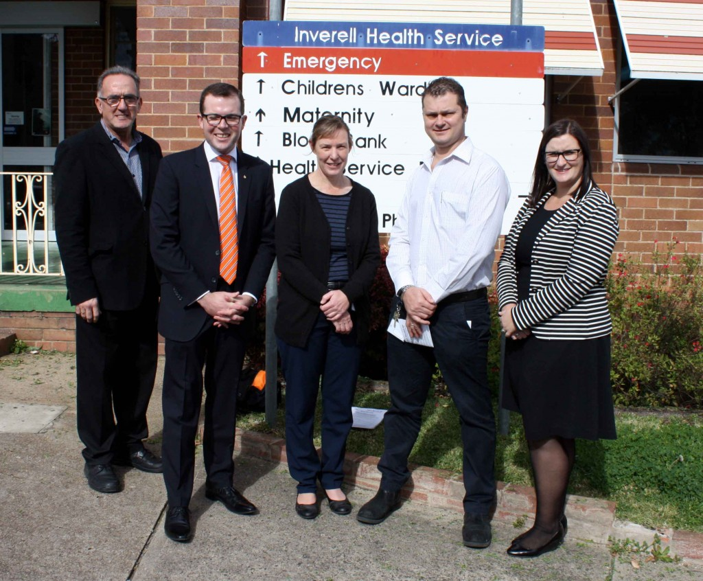 Parliamentary Secretary visits Inverell Hospital