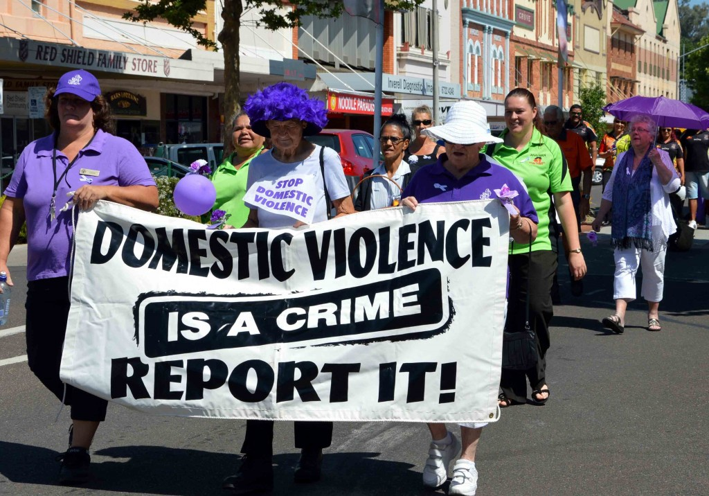 Inverell White Ribbon march 5