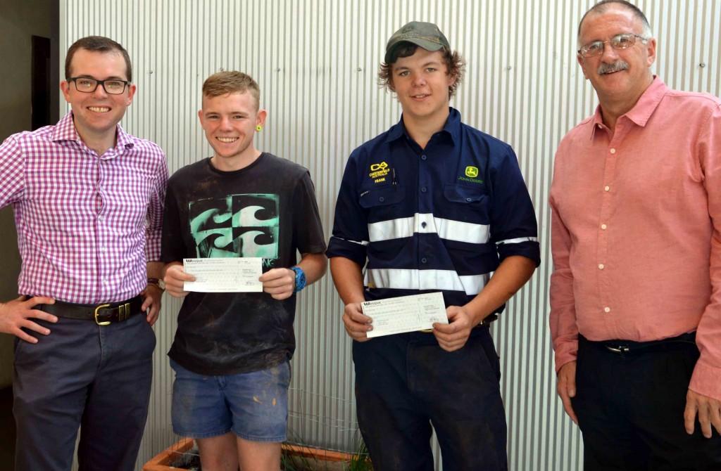 Bert Evans Scholarship Moree recipients