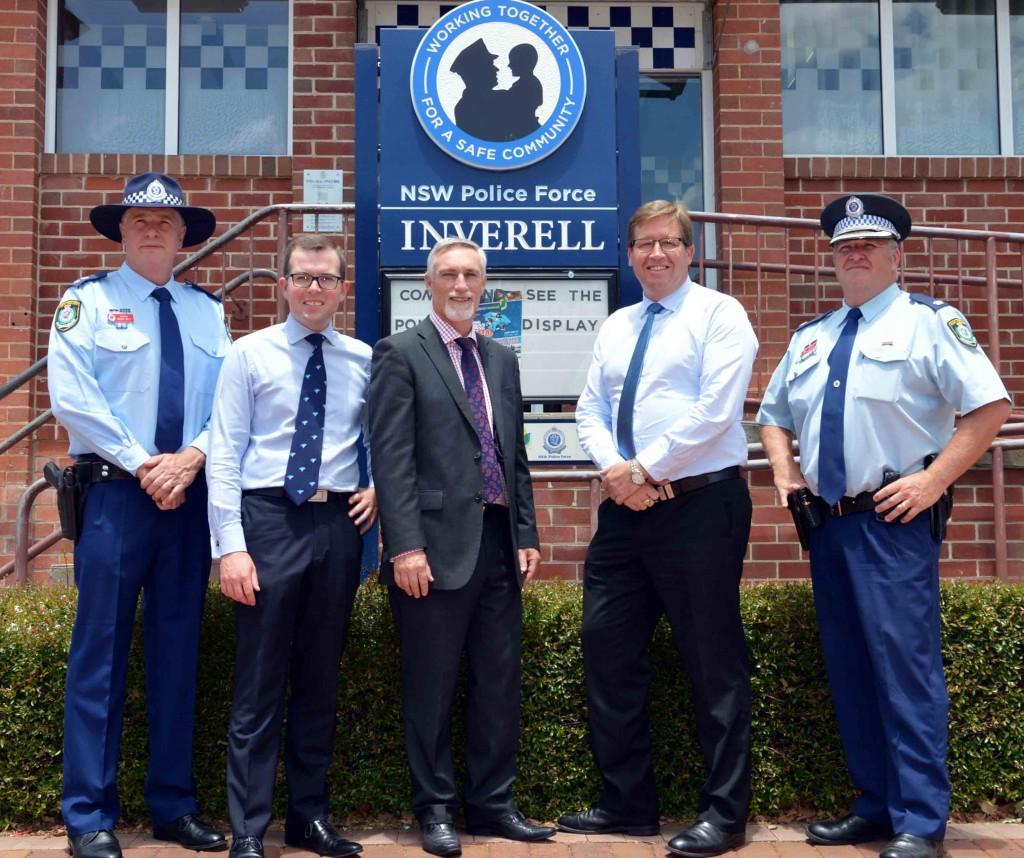 Deputy Premier visits Inverell Police Station 1