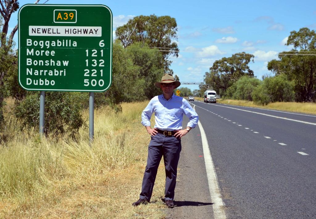 Newell Highway Boggabilla