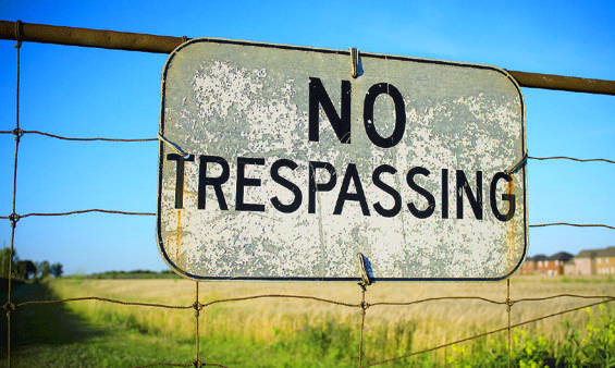 notrespassing