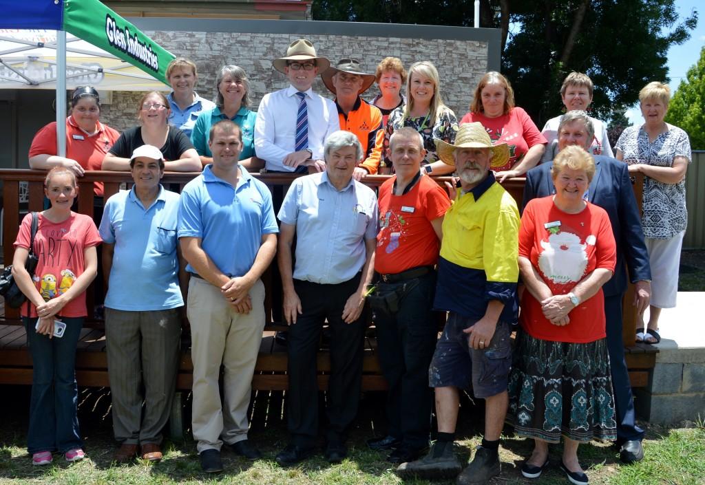 CBPF - Glen Industries community garden grant