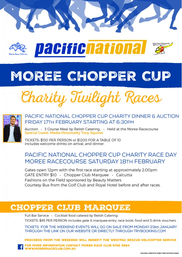 Pacific National Chopper Cup Poster 2017