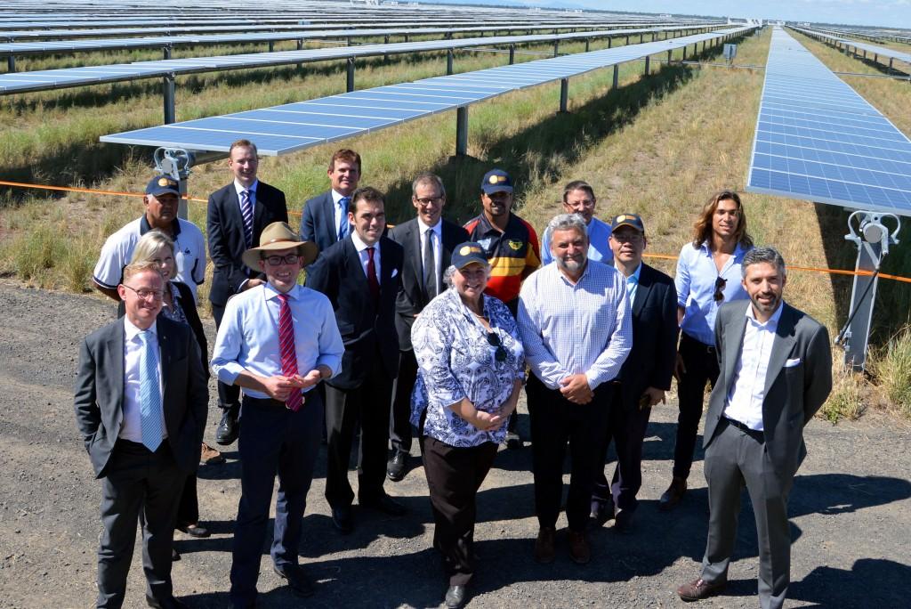 Moree Solar Farm opening 1